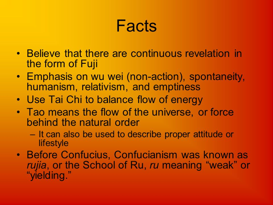 Facts Believe that there are continuous revelation in the form of Fuji