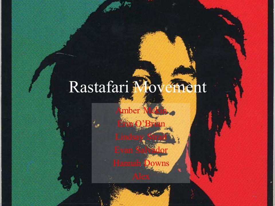 Rastafari Movement Amber Mckin Erin O'Brian Lindsay Strait