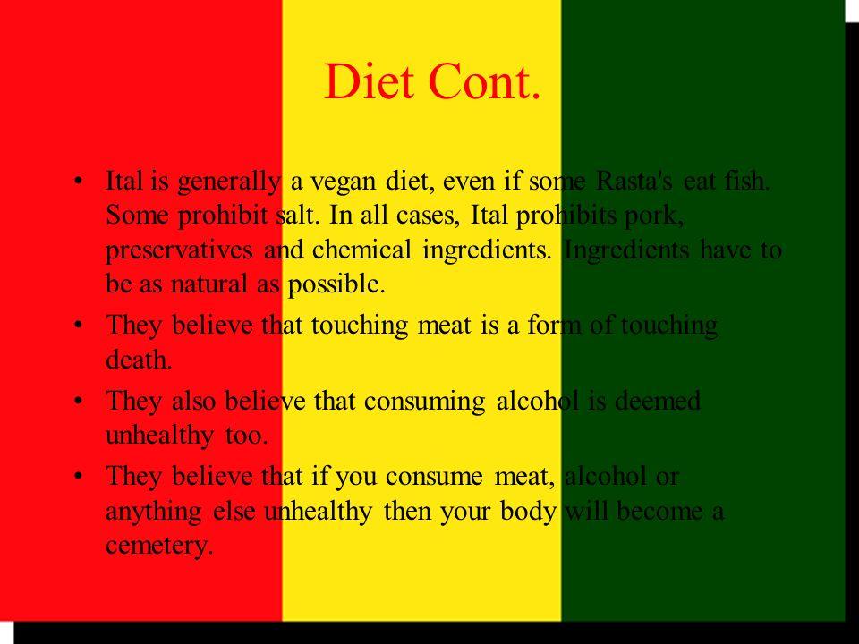 Diet Cont.