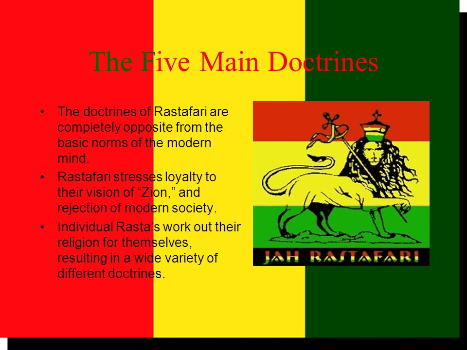 The Five Main Doctrines