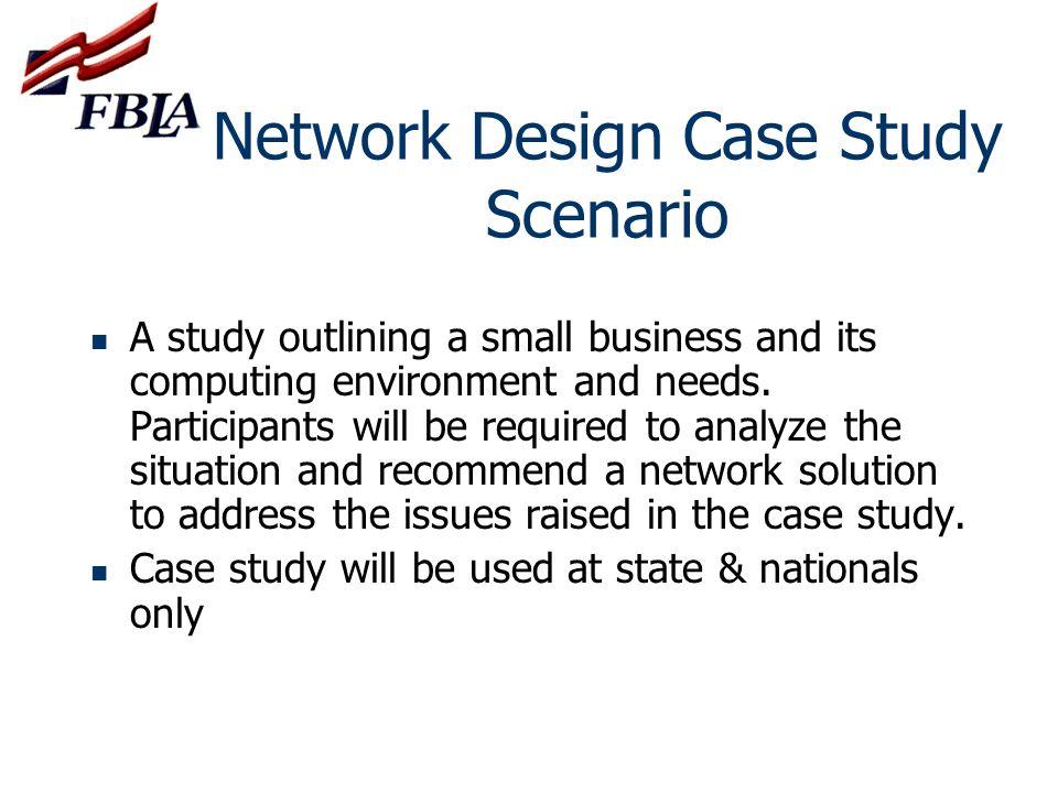 Network Design Case Study Scenario