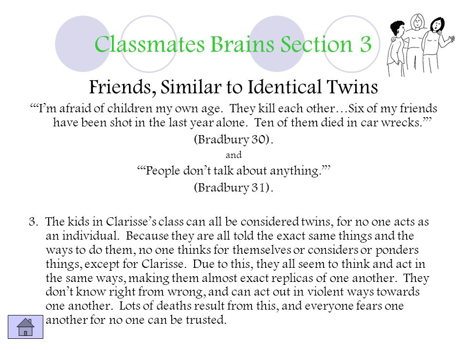 Classmates Brains Section 3
