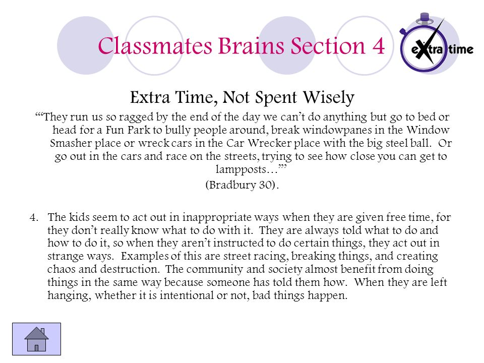 Classmates Brains Section 4
