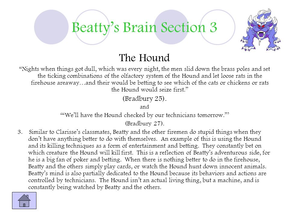 Beatty's Brain Section 3