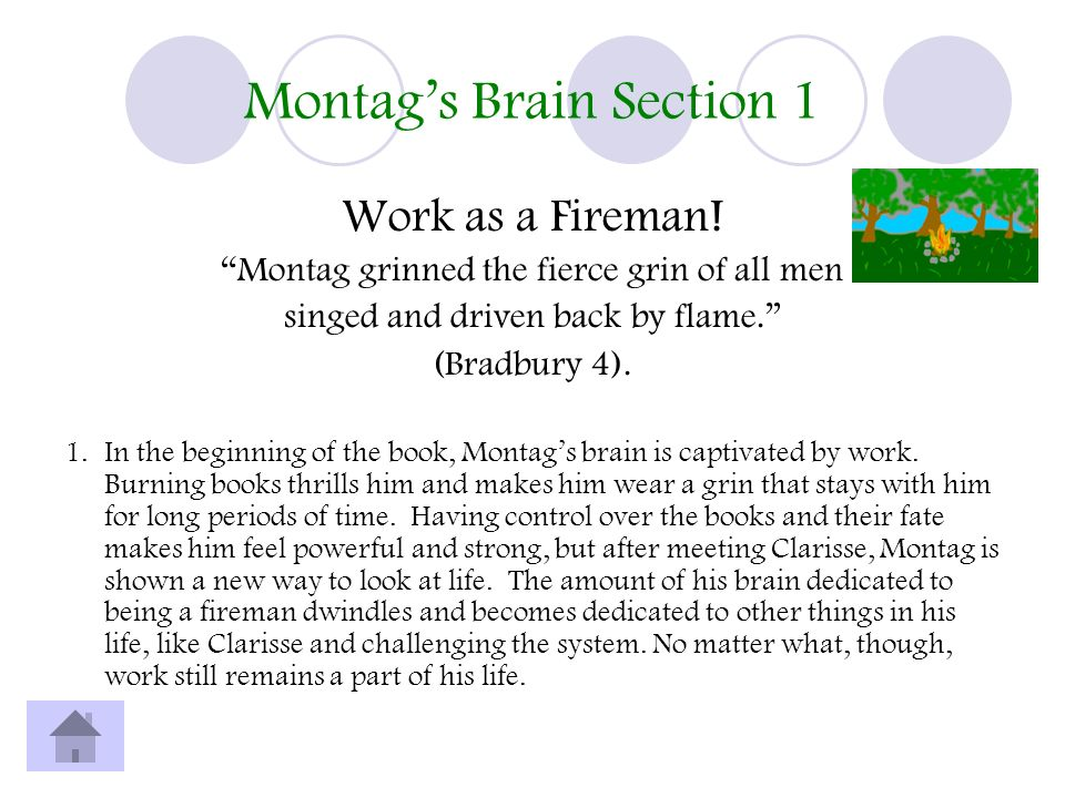 Montag's Brain Section 1