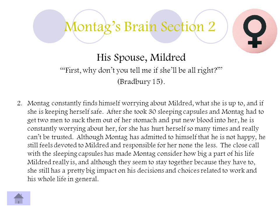 Montag's Brain Section 2
