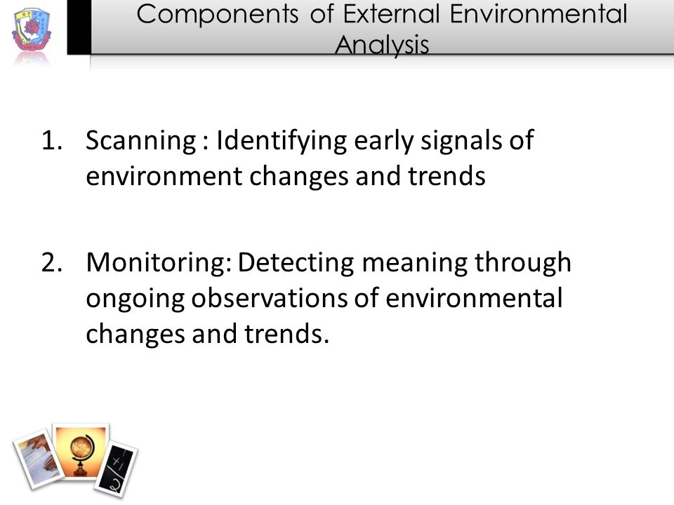 Components of External Environmental Analysis