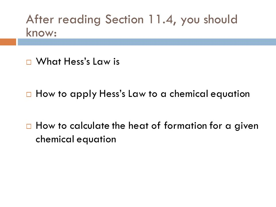 After reading Section 11.4, you should know: