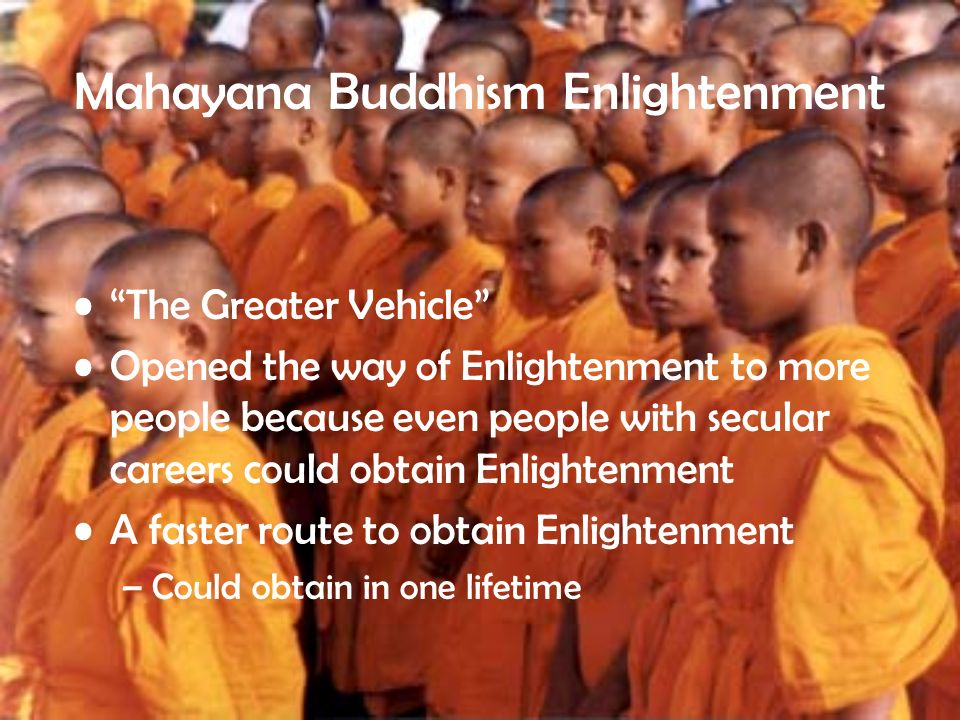 Mahayana Buddhism Enlightenment