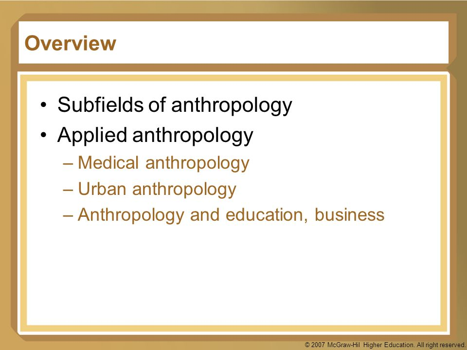 4 main subfields of anthropology essay The 4 subfields of anthropology the four main subfields of anthropology 2013 anthropology essay since the term human in nonscientific and.