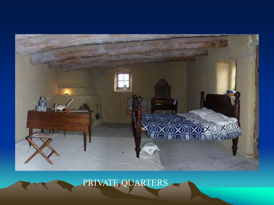 PRIVATE QUARTERS
