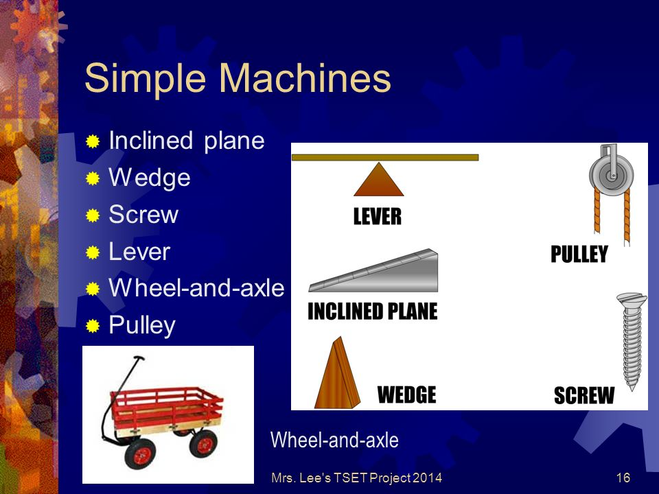 Simple Machines Lever Wheel Axle Pulley Ppt - Imagez co