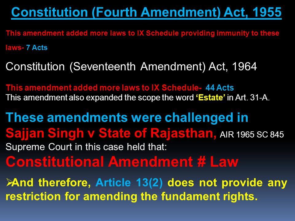 amendment procedure of indian constitution pdf