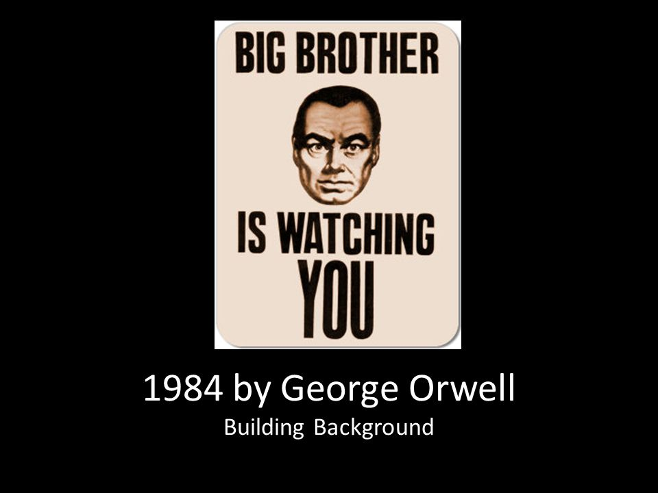 an analysis of the background of george orwells story 1984 George orwell's vision of 1984 is a dark and immoral place to be, where freedom and trust are nonexistent it is a world where most people do not know the meaning of privacy and have no sense care or love towards one another.