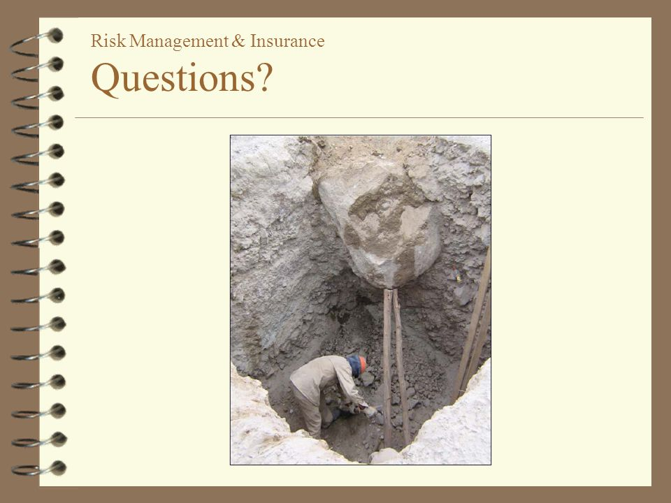 risk management questions Enterprise risk management should provide the discipline to ensure a fresh look  at the  here are 10 questions to help with that process.