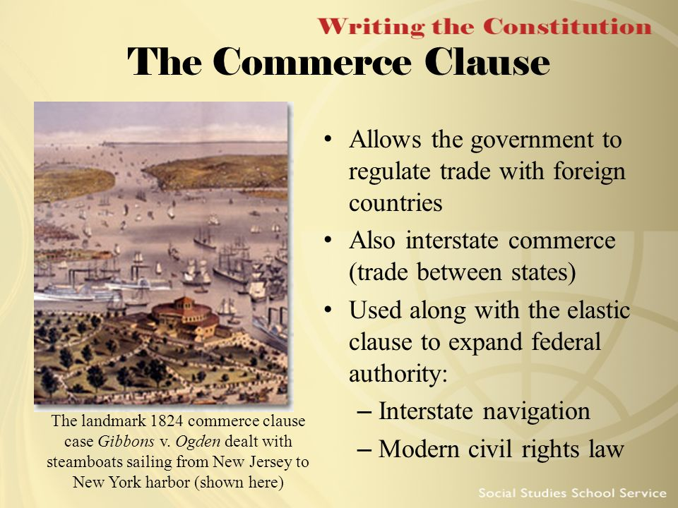 Commerce Clause Essay