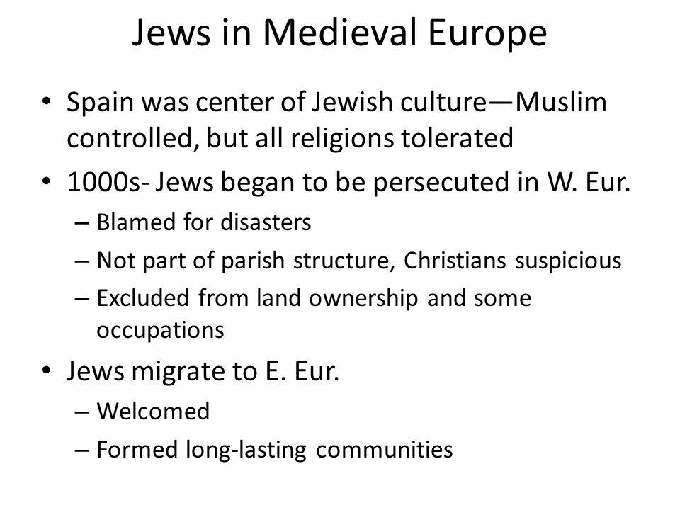 Jews in Medieval Europe