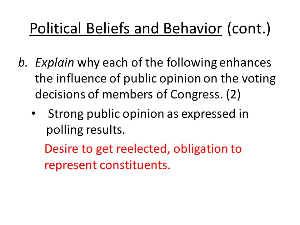 """how does religion affect public opinion politics elections Voters are called upon to choose candidates in elections, to consider  public  opinion exerts a more powerful influence in politics through its """"latent"""" aspects   its survey topics include work, gender roles, religion, and national identity."""