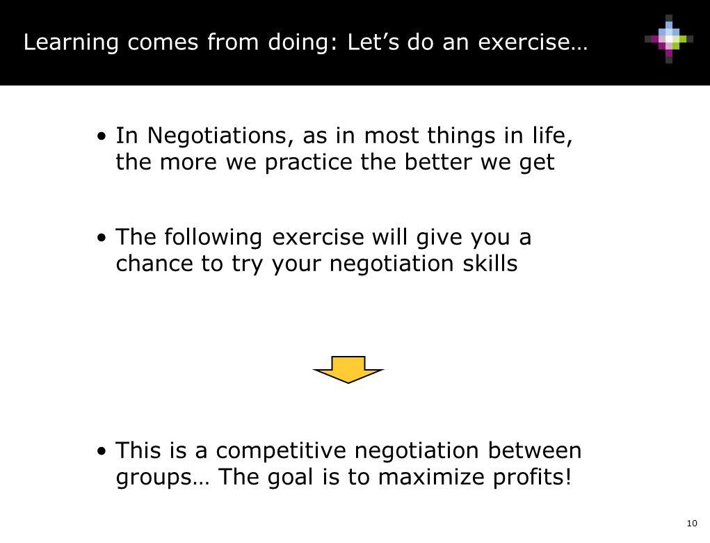 Negotiations Training Mat Ppt Download