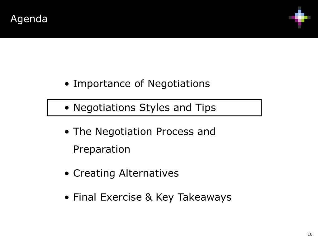 a report on my takeaways from the negotiation How do you rate a buyer's negotiation effectiveness allow me to share a story of my first $100,000 procurement negotiation learn actionable takeaways that.