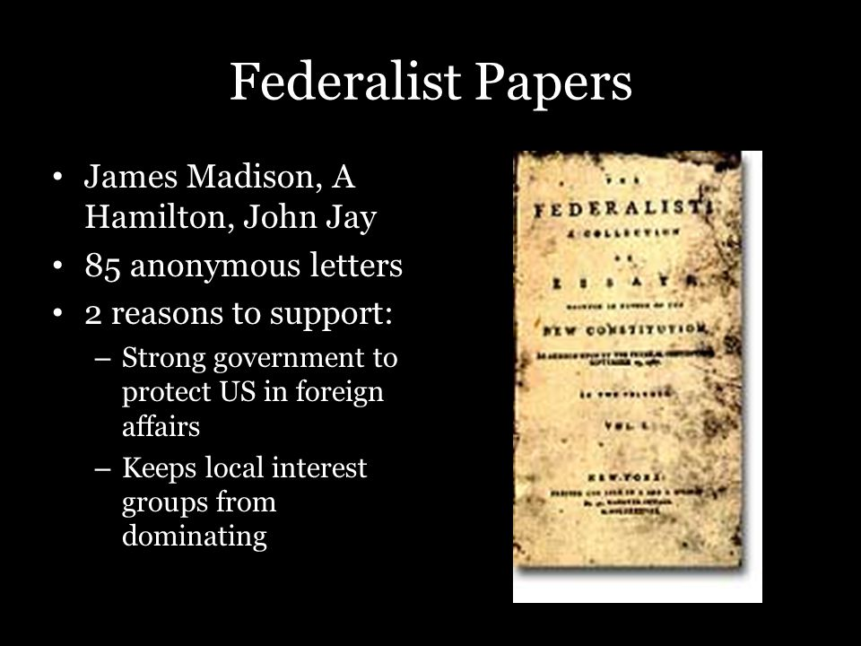 james madison 10th essay A summary of federalist essays no10 - no17 in the founding fathers's the federalist papers (1787-1789) learn exactly what happened in this chapter, scene, or section of the federalist papers (1787-1789) and what it means.