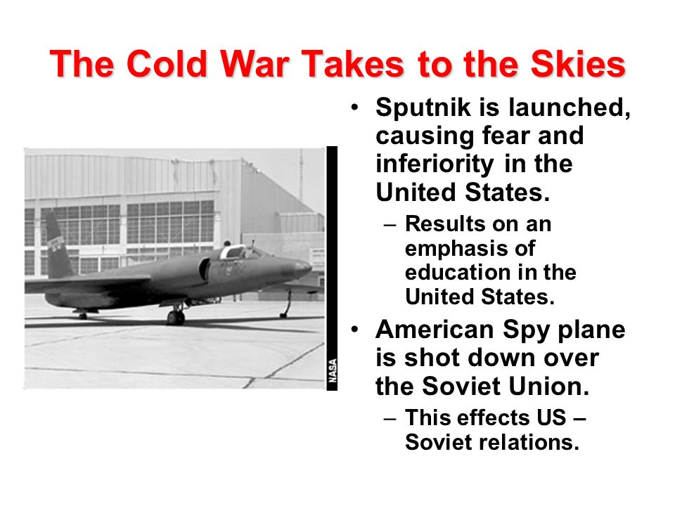The Cold War Takes to the Skies