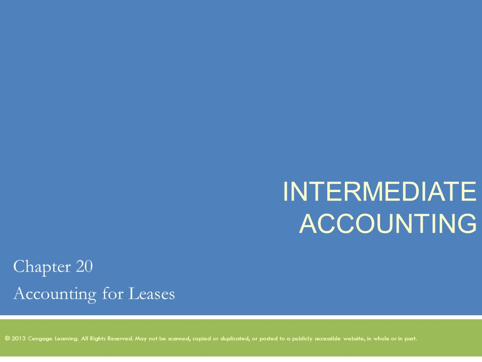 corporate accounting part 1 lease This standard is equivalent to sb-frs 17 leases issued by the council on corporate in accounting for all leases lease term is for the major part of the.