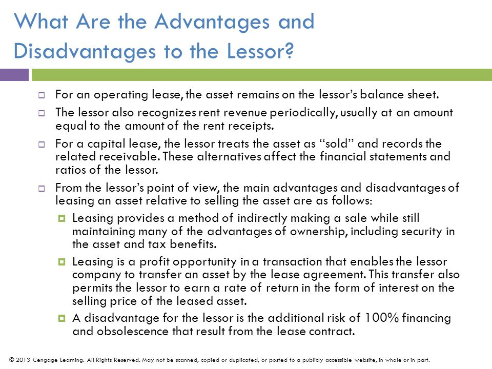 "advantages and disadvantages of the hire purchase and operating lease Hire purchase (""hp"") is a popular type of credit agreement typically used to  purchase cars find out more about the pros and cons of hire purchase  vat to  pay on monthly instalments (compared to a lease) the interest rate   disadvantages of hire purchase the loan is secured against the vehicle:."