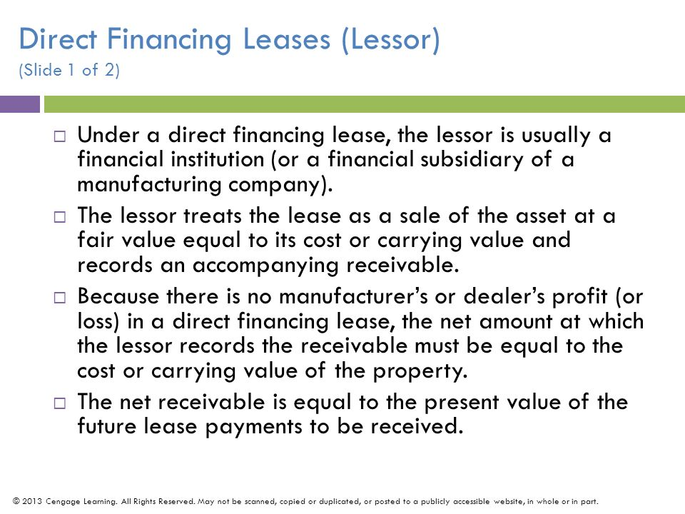 Unguaranteed Residual Value >> Intermediate Accounting - ppt download
