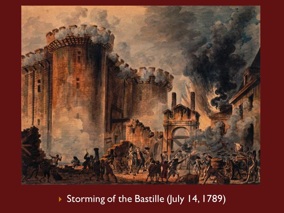storming of the bastille july 14 Bastille day is a holiday celebrating the storming of the bastille—a military fortress and prison—on july 14, 1789, in a violent uprising that helped.