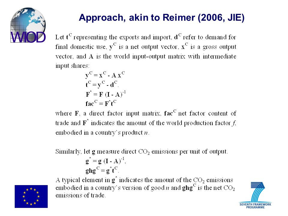Approach, akin to Reimer (2006, JIE)
