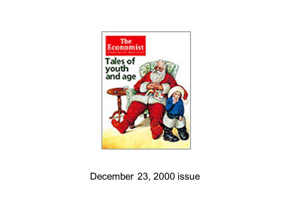 December 23, 2000 issue