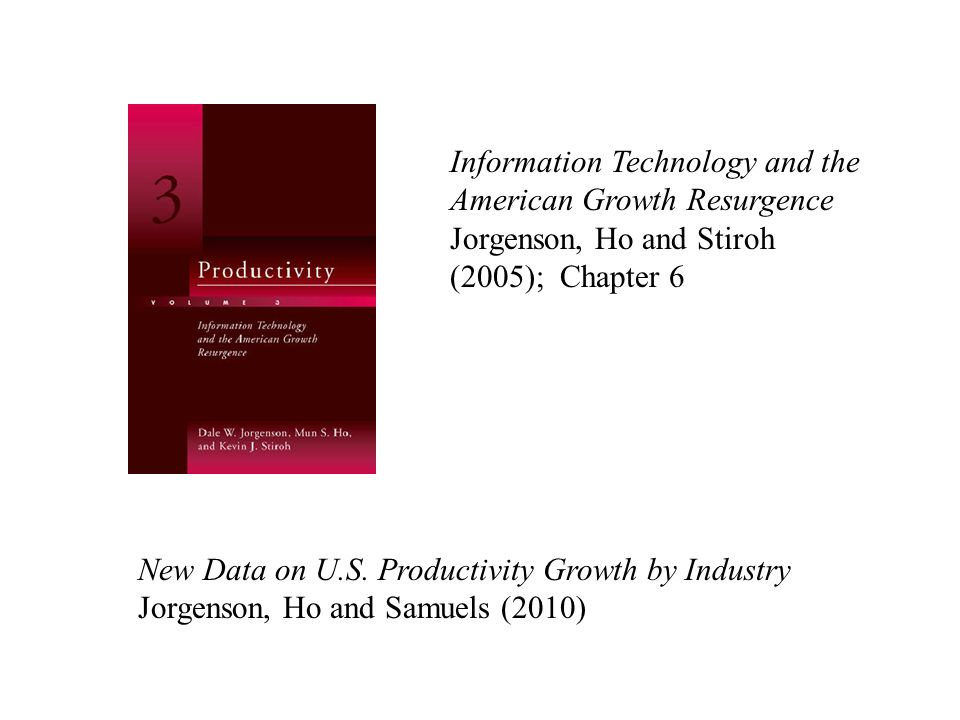 Information Technology and the American Growth Resurgence