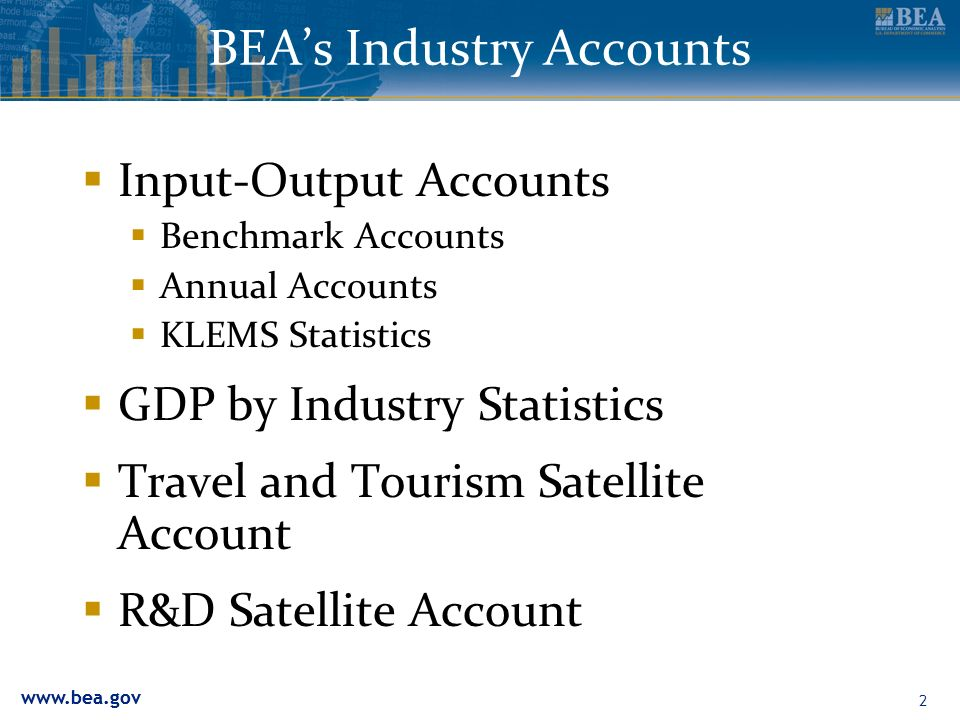 BEA's Industry Accounts
