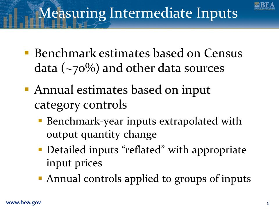 Measuring Intermediate Inputs