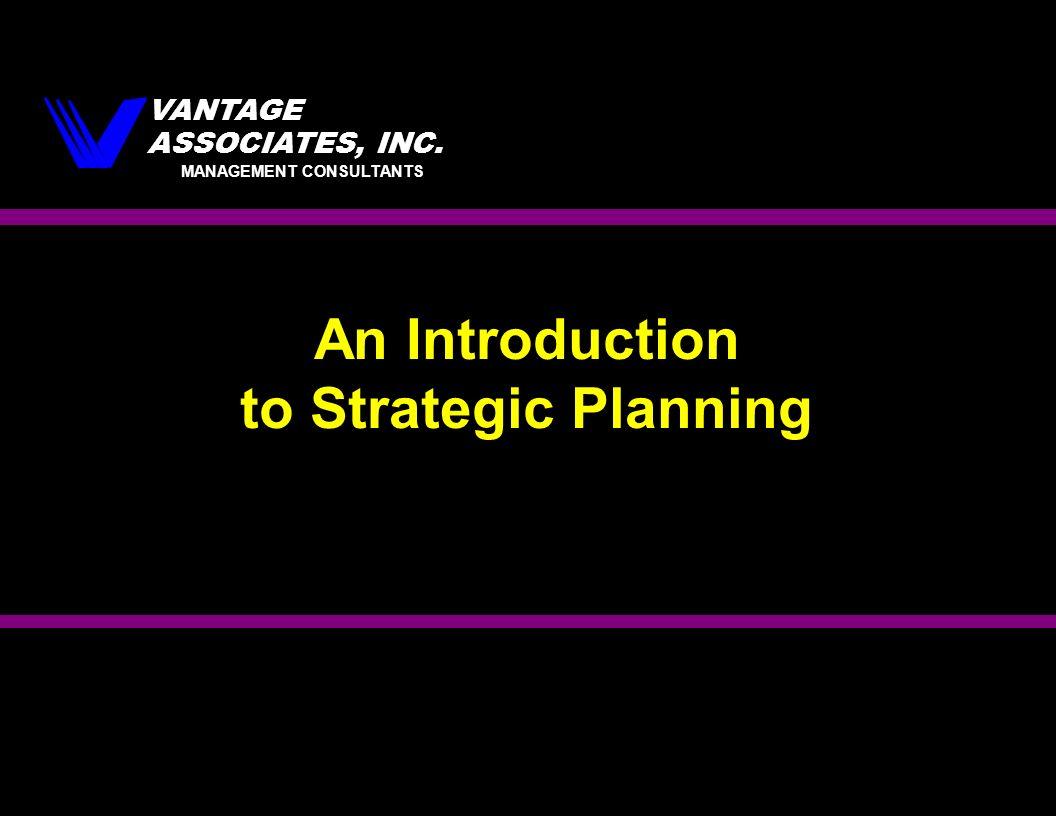 introduction to stratagic management Strategic management for senior leaders: an introduction to strategic management strategic measurement.