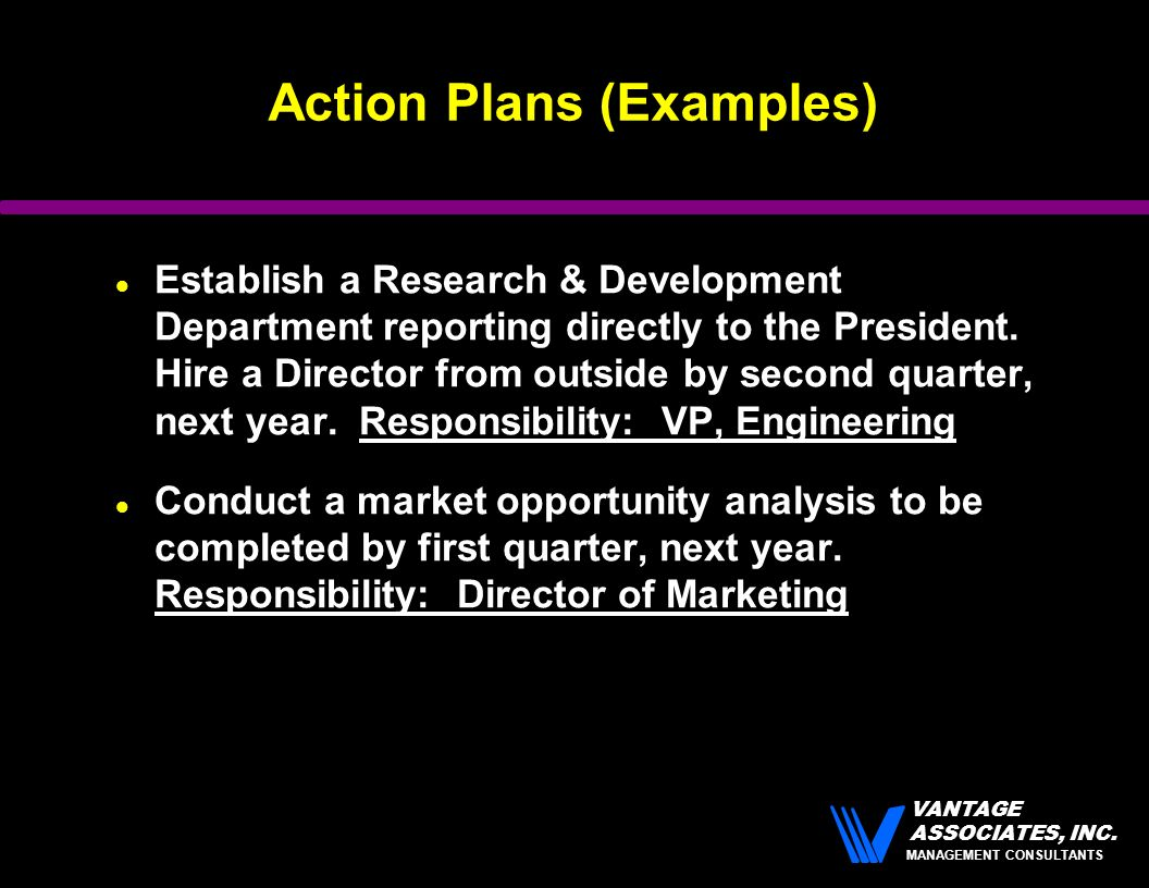 Transforming Vision Into Action - ppt download