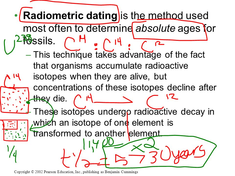 Geologic Time Radiometric Time Scale