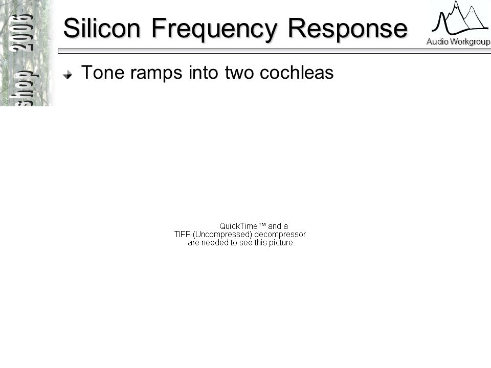 Silicon Frequency Response