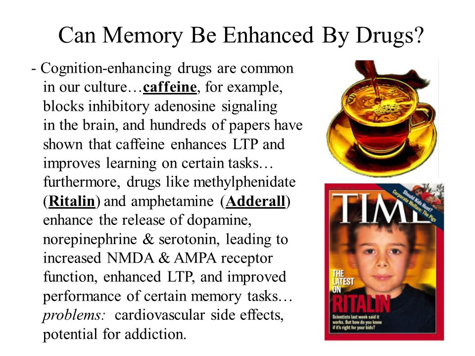Can Memory Be Enhanced By Drugs