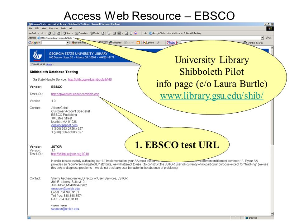 Access Web Resource – EBSCO