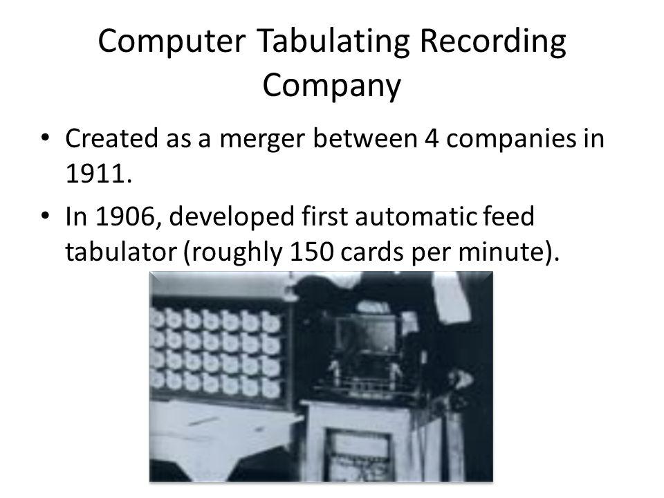 Computer Tabulating Recording Company