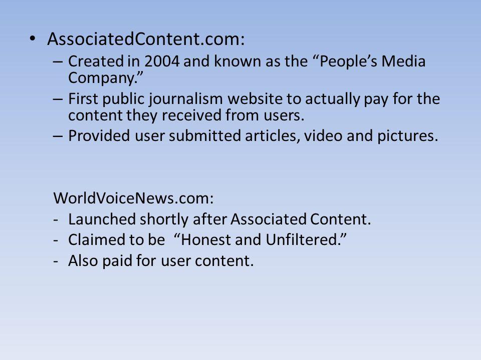AssociatedContent.com: