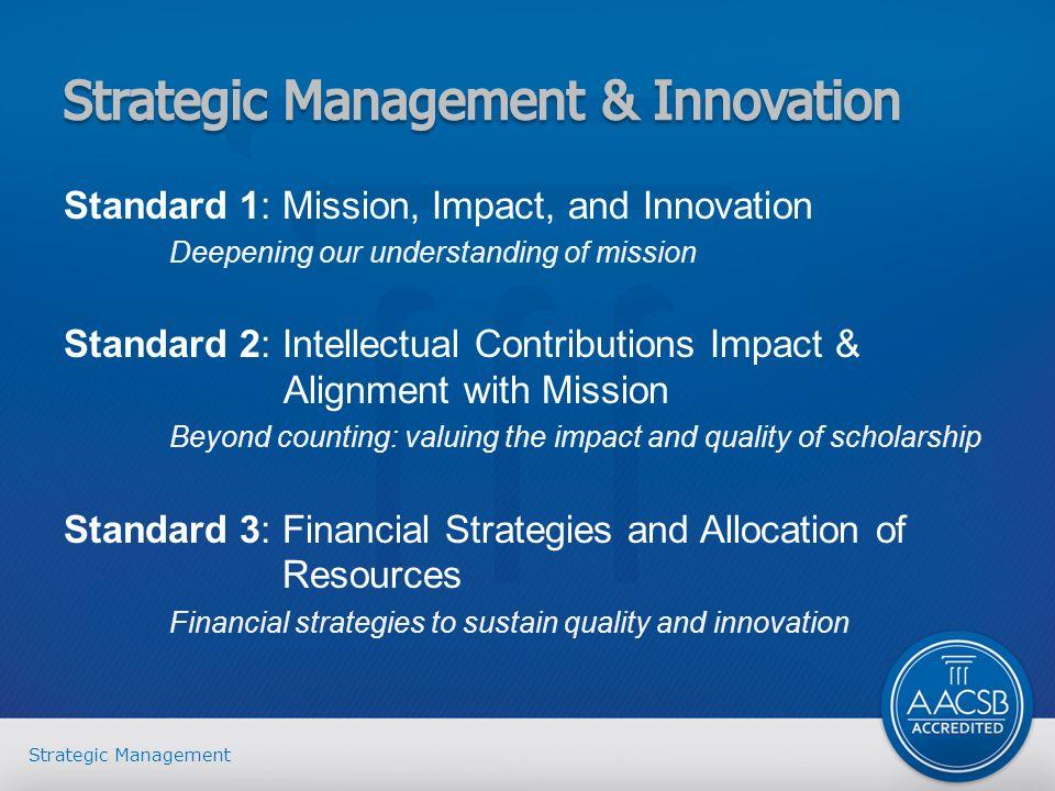 innovation in strategic management pdf