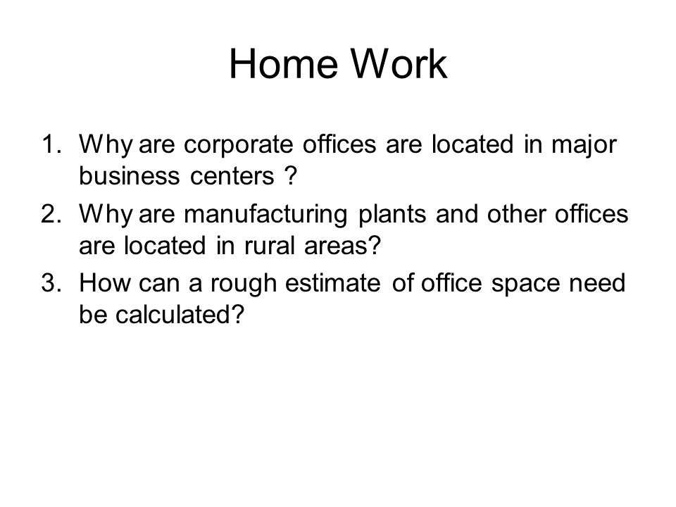 Office Layout Techniques And Space Requirements Ppt