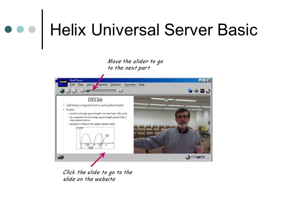 Helix Universal Server Basic