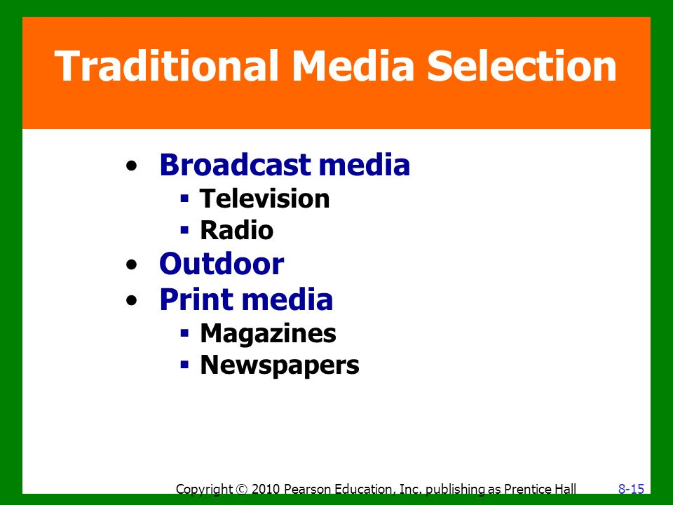 traditional media channels There are two forms of public relations, traditional pr and digital pr, which are   including the way these relationships are built and the channels in which  the  media tactics that fall under the umbrella of traditional public.