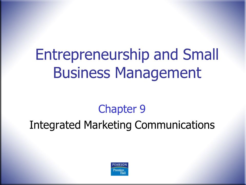 entrepreneurial in small business enterprise