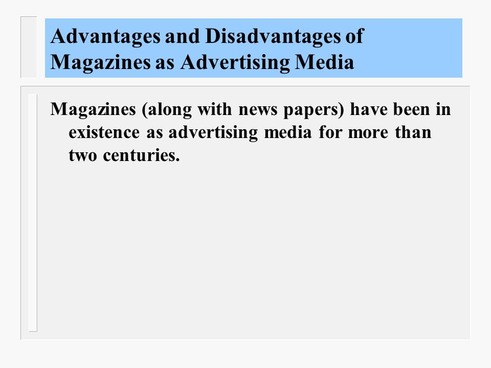 Advertisements: advantages and disadvantages of advertising