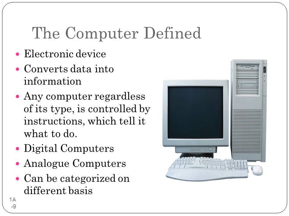 computer defined Definition of computer - an electronic device for storing and processing data, typically in binary form, according to instructions given to it in a variabl.